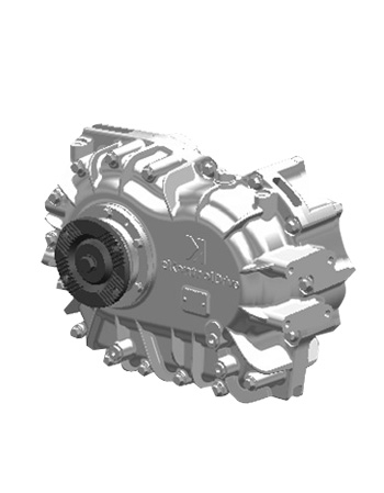 Single input reduction gearbox